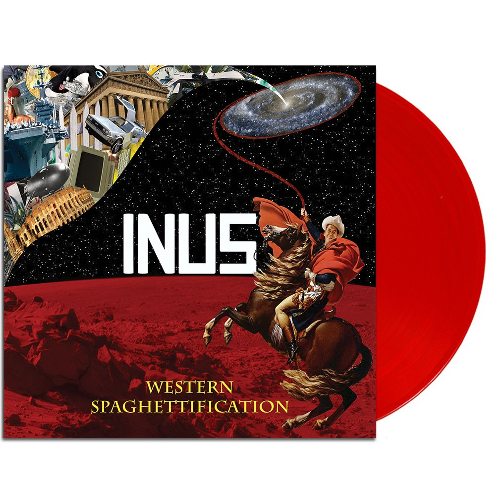 Western Spaghettification LP (Red)