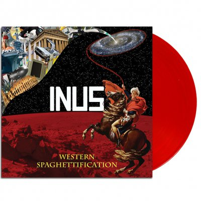 INUS - Western Spaghettification LP (Red)