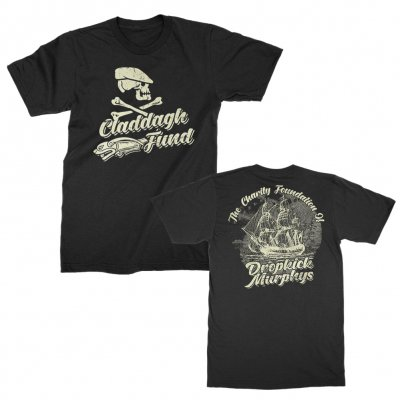 claddagh-fund - Clipper & Scally Skull Tee (Black)