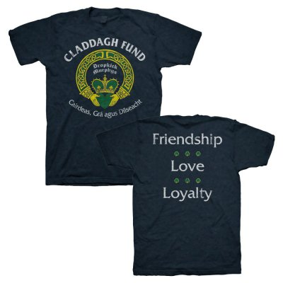 claddagh-fund - Classic Tee (Navy)