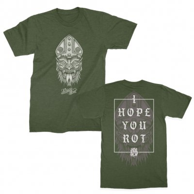 parkway-drive - I Hope You Rot Tee (Heather Green)