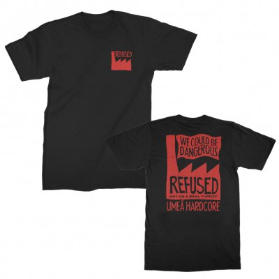 refused - Real Threat T-Shirt (Black)