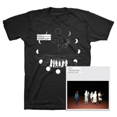 Tinariwen - Amadjar CD + Tee (Black) Bundle