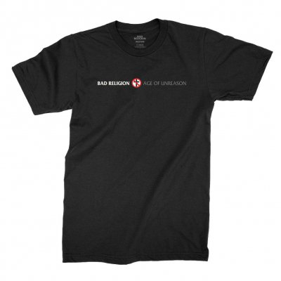 bad-religion - Age of Unreason Tee (Black)