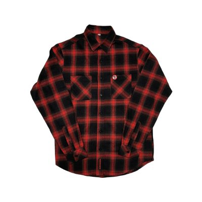 bad-religion - Crossbuster Flannel (Black/Red)