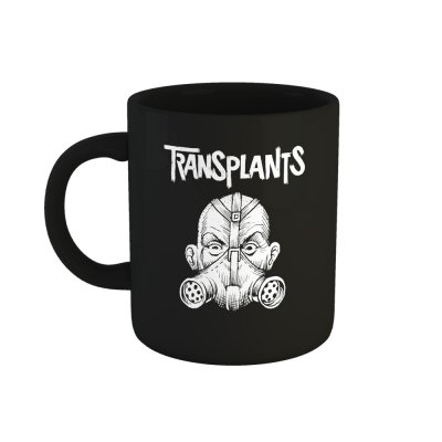 the-transplants - Gas Mask Coffee Mug