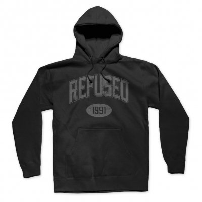 refused - 1991 Pullover Hoodie (Black)