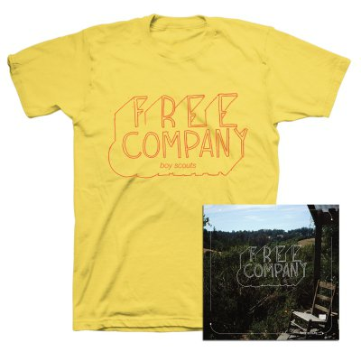Boy Scouts - Free Company CD + Tee (Yellow) Bundle