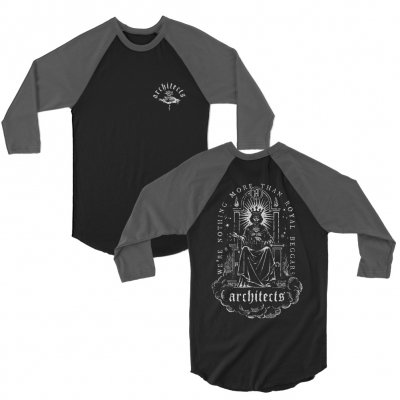 architects - Royal Beggars Raglan (Black/Grey)
