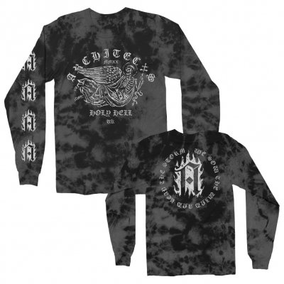 architects - Holy Angel Long Sleeve (Tie Dye)