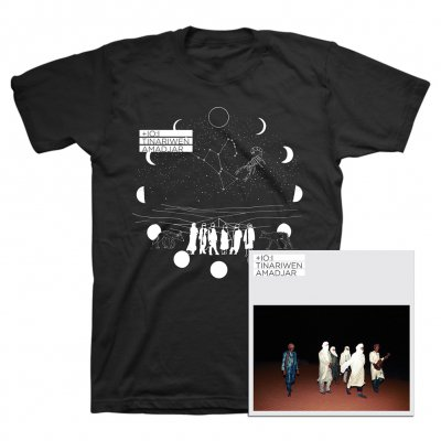 Tinariwen - Amadjar CD + Tee (Black) Bundle