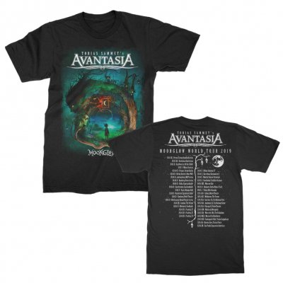 Avantasia - Moon Glow Tour T-Shirt (Black)