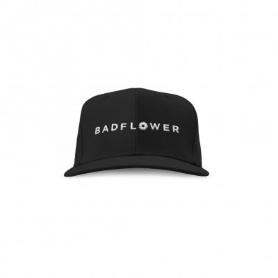 badflower - Logo Hat (Black)