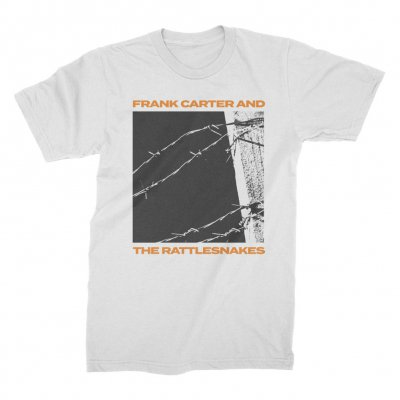 Barbed Wire Tee (White)