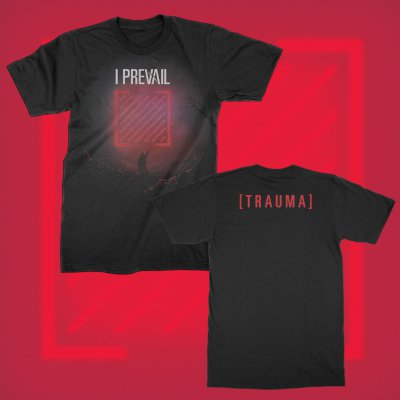i-prevail - New Trauma Album Tee (Black)