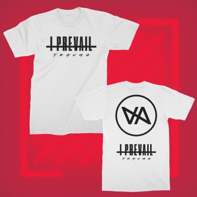 i-prevail - Diagonal Tee (White)