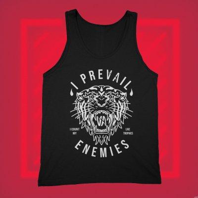 i-prevail - Enemies Tank Top (Black)