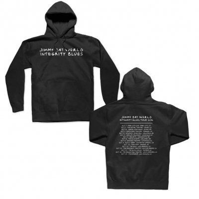 jimmy-eat-world - Integrity Blues Tour Pullover Hood (Black)