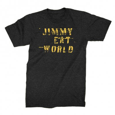jimmy-eat-world - Duct Tape Logo Tee (Heather Charcoal)