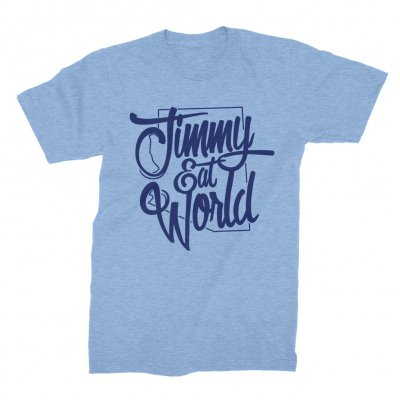 jimmy-eat-world - Arizona Outline Tee (Baby Blue)