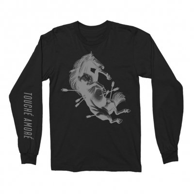 touche-amore - Dead Horse X Long Sleeve (Black)