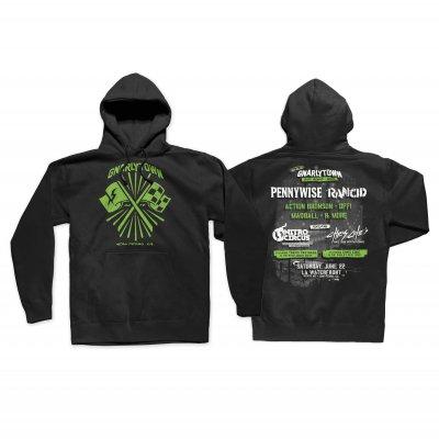 gnarlytown - Flag Pullover (Black)