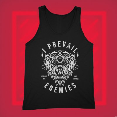i-prevail - Enemies Tank Top (Black)