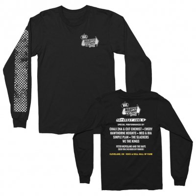 vans-warped-tour - Cleveland 2019 Event Long Sleeve (Black)