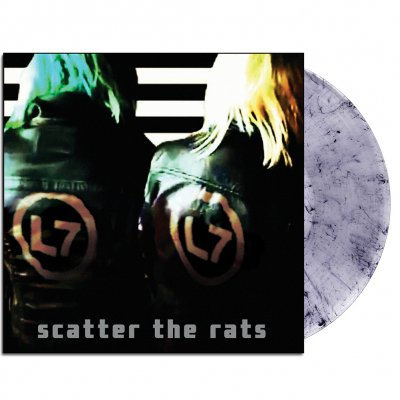 l7 - Scatter The Rats LP (Clear/Black)