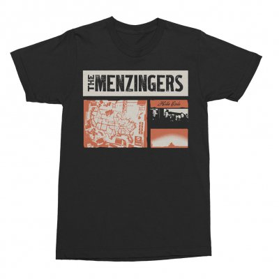 the-menzingers - Hello Exile Collage Tee (Black)