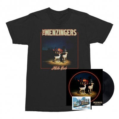 The Menzingers - Hello Exile LP (Black) + Flexi + Cover Tee (Black) Bundle