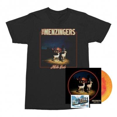 the-menzingers - Hello Exile LP (Sunburst) + Flexi + Cover Tee (Black) Bundle