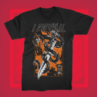 i-prevail - Snake Deadweight Tee (Black)