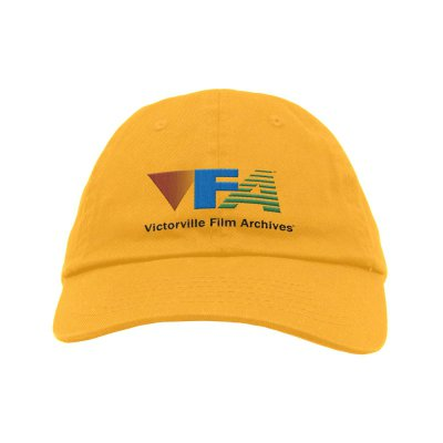 on-cinema-live - Victorville Film Archives Dad Hat (Yellow)