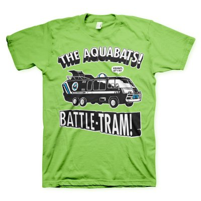 the-aquabats - Battle Tram Tee (Green)