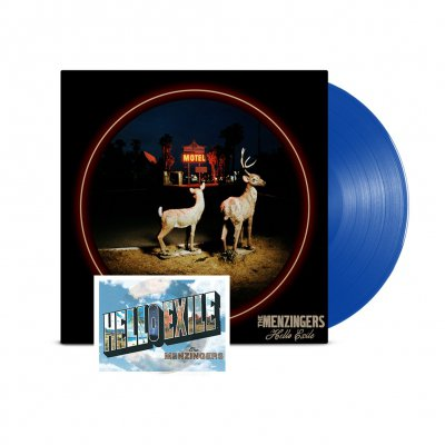 Hello Exile LP (Blue) + Flexi