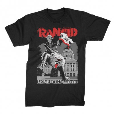 rancid - Sacramento 2019 Tour T-Shirt (Black)