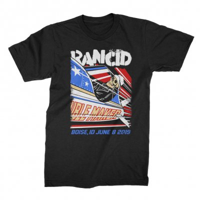 rancid - Boise 2019 Tour T-Shirt (Black)