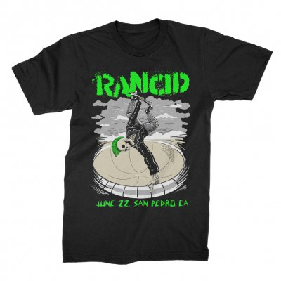 rancid - San Pedro 2019 Tour T-Shirt (Black)