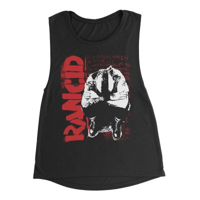 rancid - Don't Care Nothin' Muscle Tank (Black)