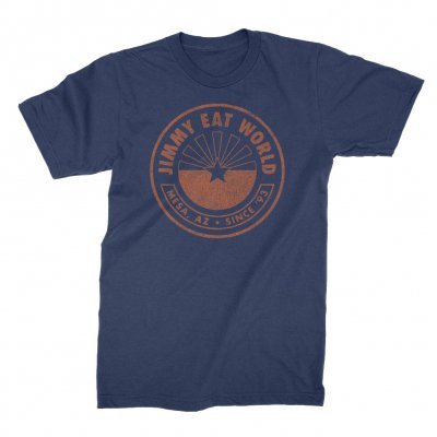 jimmy-eat-world - Rising Sun Tee (Navy)