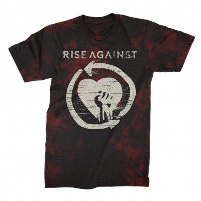 rise-against - HeartFist Tie Dye Tee (Bloodlet)