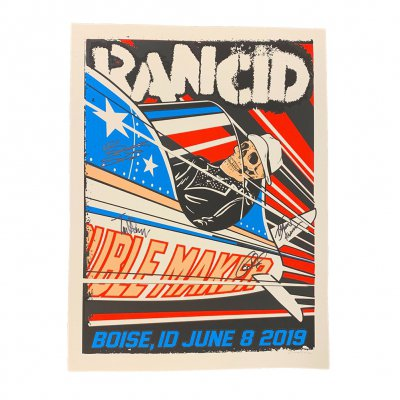 rancid - Boise 2019 Tour Print (Signed)