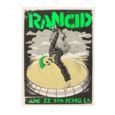 rancid - San Pedro 2019 Tour Print
