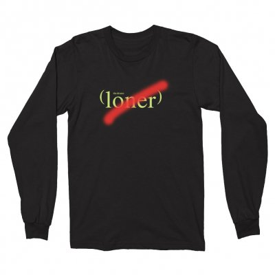 the-drums - Loner Long Sleeve (Black)