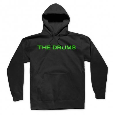 the-drums - Blur Neon Green Logo Pullover (Black)