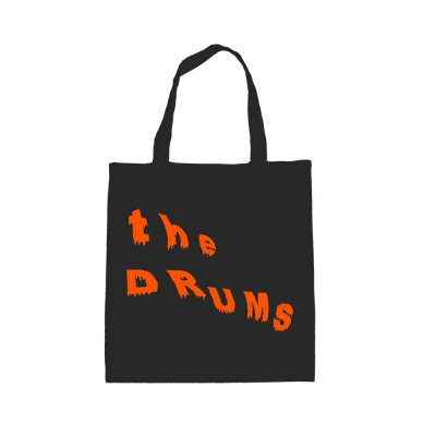 the-drums - Orange Slant Logo Tote Bag (Black)