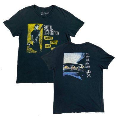 social-distortion - Somewhere Between Vintage Tee (Black)