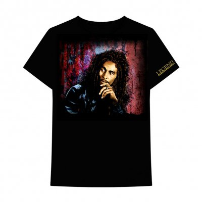 Bob Marley - Legend Tee (Black)