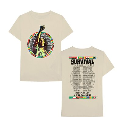 Bob Marley - Survival Tour Tee (Natural)